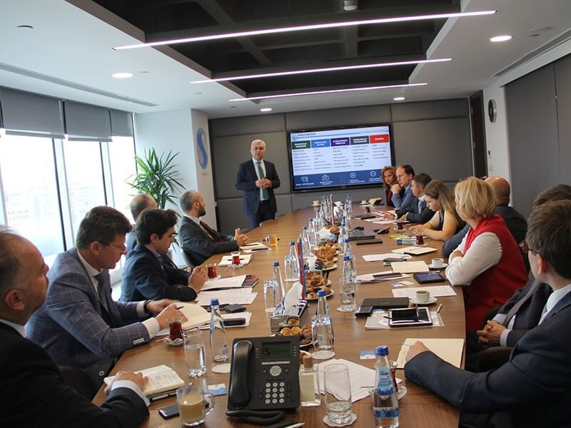 Russian Insurance Assosiation Delegation's visits Turkey.